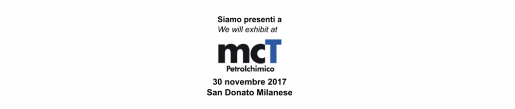 Successfully closed the 2017 edition of mcT Petrolchimico